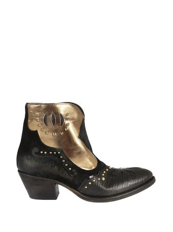 Elena Iachi Studded Ankle Boots