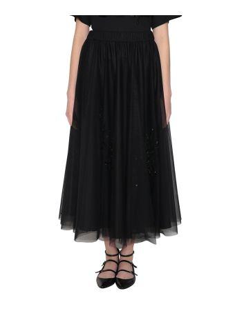 Parosh Tulle Skirt