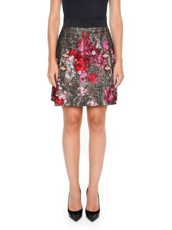 Jacquard Lurex Skirt