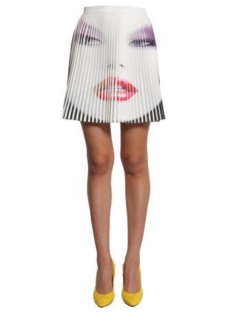 Short Pleated Skirt
