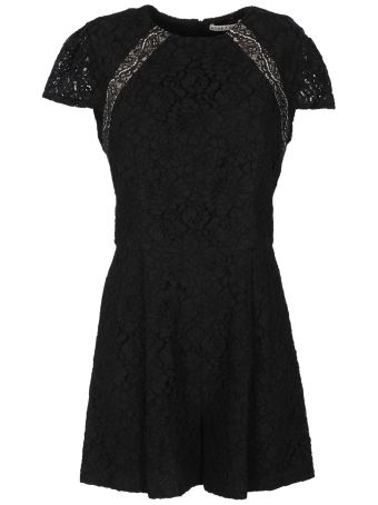 Alice + Olivia Floral Lace Playsuit