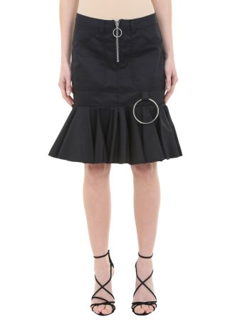 Four Pocket Drill Skirt With Frill