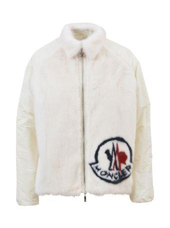 Moncler Gamme Rouge Fox  Fur Logo Jacket