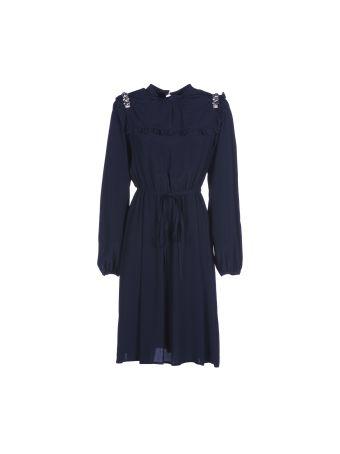 Nº21 Frill Bib Dress