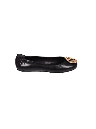 Tory Burch Minnie Travel Ballet With  Metal Logo