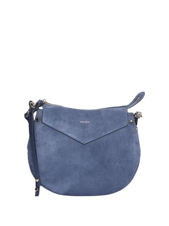 Jimmy Choo Artie Suede Shoulder Bag