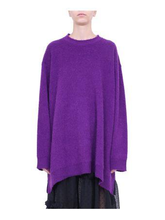 MM6 Maison Margiela Wool And Alpaca Dress