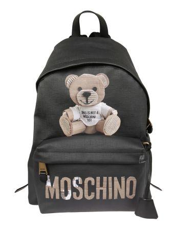 Moschino Teddy Bear Print Backpack