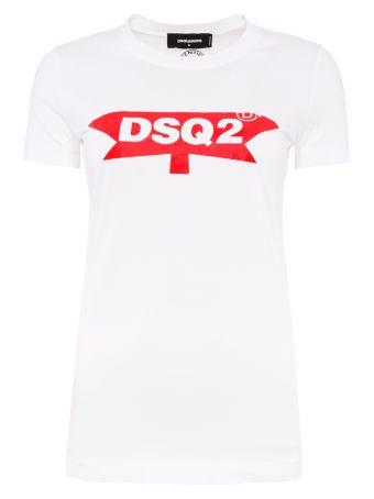 Crackled Print T-shirt