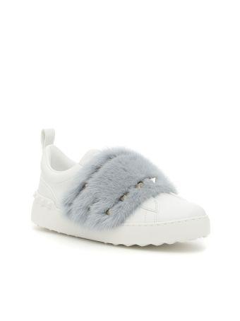 Mink Fur Sneakers