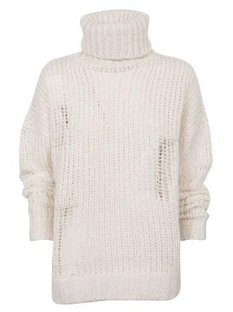 Iro Distressed Knitted Sweater