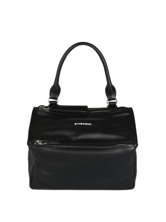 Givenchy Pandora Logo Small Leather Bag
