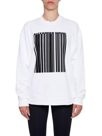 Oversized Barcode Sweatshirt