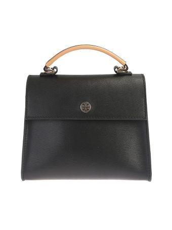 Leather Parker Satchel Small Bag