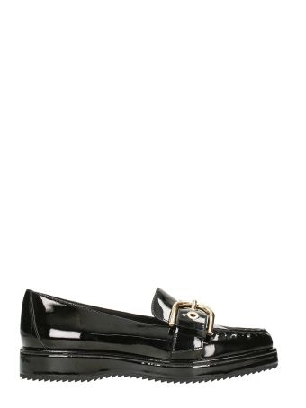 Michael Kors Cooper Black Patent Leather Loafers