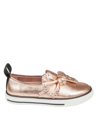 Red Valentino Slip On Laminated With Floor