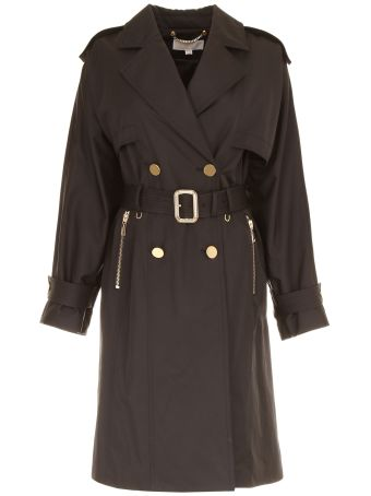 Wide-sleeved Trench Coat