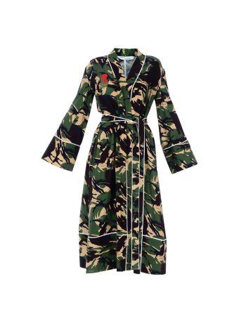 Green Camo Pajama Robe