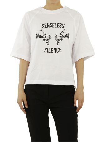 Mcq Alexander Mcqueen Senseless Silence Print T-shirt