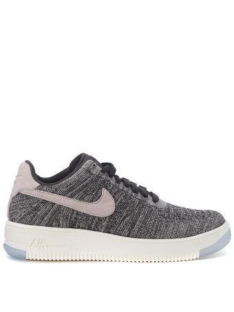 Nike Air Force 1 Ultra Flyknit Low Black And Pink Sneaker
