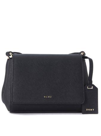 Shoulder Bag Dkny Bryant Park Made Of Black Leather