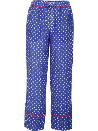 Printed Silk Trousers