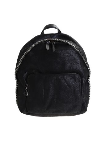 Faux Leather Shaggy Deer Falabella Backpack