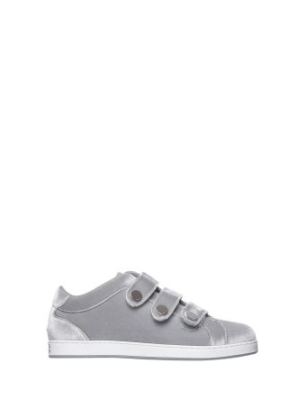 Jimmy Choo Ny Sneakers Trainer Silver