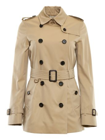 Short Kensington Trench Coat