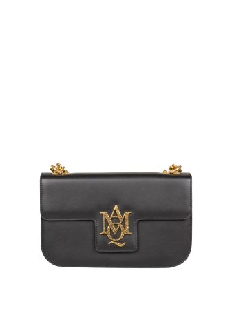 Alexander McQueen Insignia Leather Bag