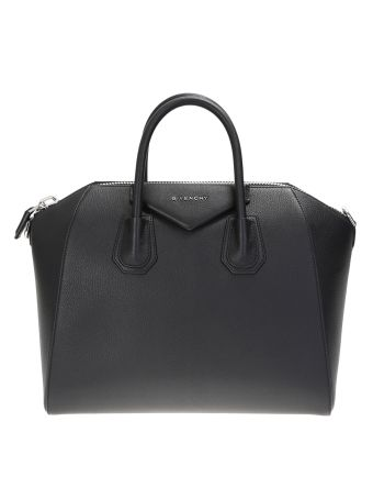 Leather Antigona Medium Bag