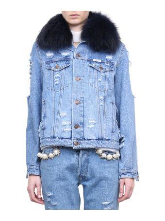 Forte Couture Le Bon Cotton Denim Jacket