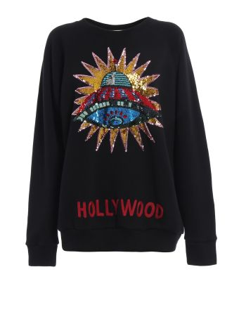 Gucci Sequin Embellished Hollywood Sweatshirt