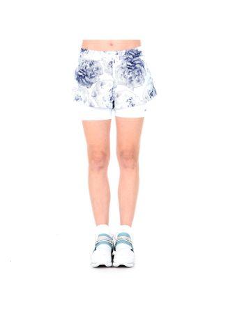 Run 2 In 1 Printed Shorts