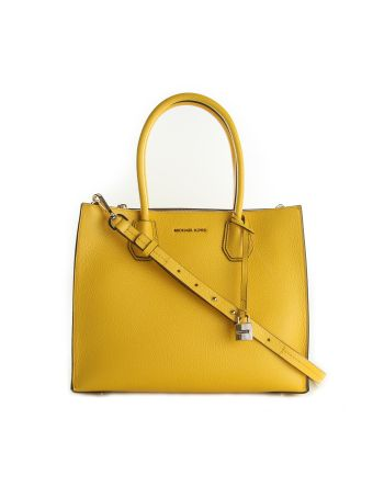 Mercer Large Tote Michael Michael Kors Sunflower