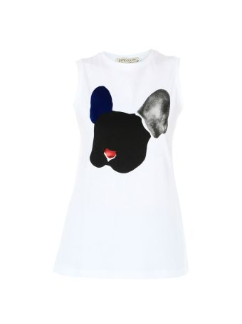 White Dog Oversized Tank