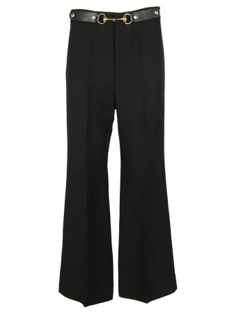 Gucci Horsebit Cropped Trousers