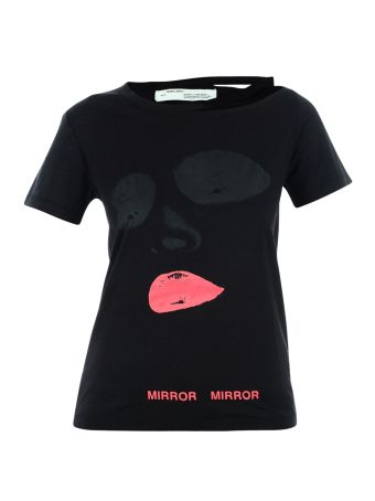 Black Face T-shirt From Off-white
