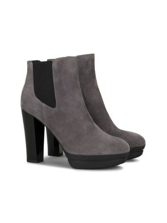 H313 Suede Ankle Boots