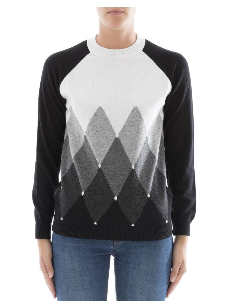 Ballantyne Black Cachemire Sweatshirt