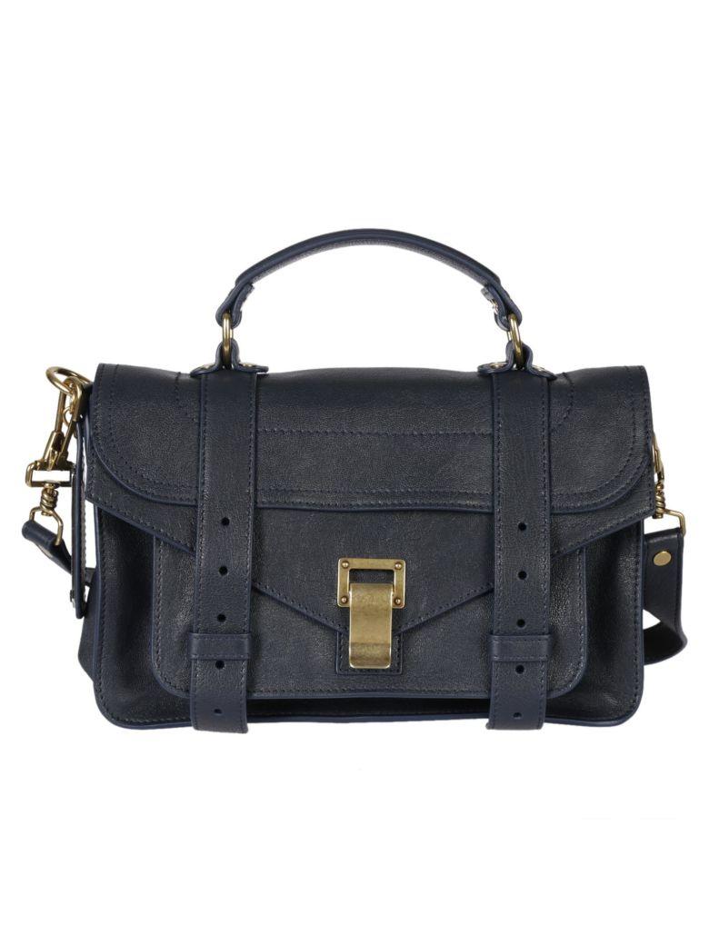 Proenza Schouler Tiny Ps1 Shoulder Bag In Midnight   ModeSens ae646d3fec