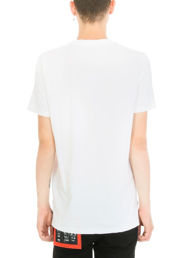 Givenchy 200117 Bow Arrow Printed T Shirt In White Modesens