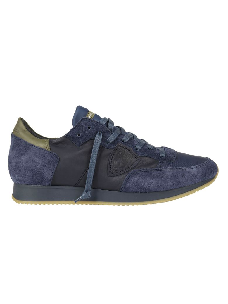 Philippe Model  PANELED SNEAKERS