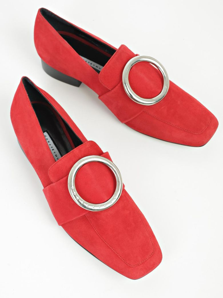 how to wear red flat shoes - photo #39