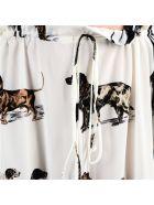 Stella Mccartney Dog Print Skirt