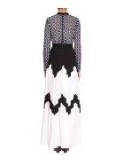 self-portrait Ssweetheart Crochet Maxi Dress