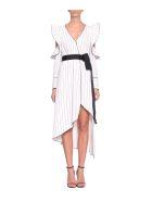 self-portrait Asymmetric Wrap Dress