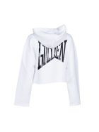 Golden Goose Deluxe Brand Rear Printcropped Hoodie