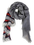 Gucci Modal Silk Web GG Print Shawl