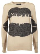 Markus Lupfer Big Smacker Lip Sweater